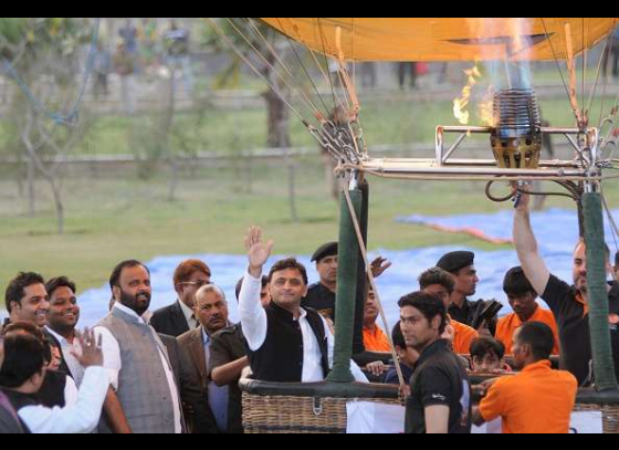 Akhilesh unveils logo of 'deshi dhanush' tournament