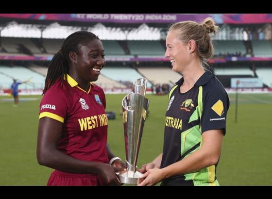 Australia post 148/5 in women's WT20 final against Windies