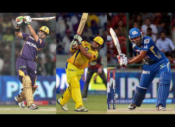 Top 10 batsmen with most half centuries in IPL