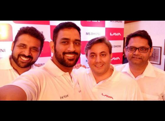 Dhoni named handset-maker Lava's brand ambassador