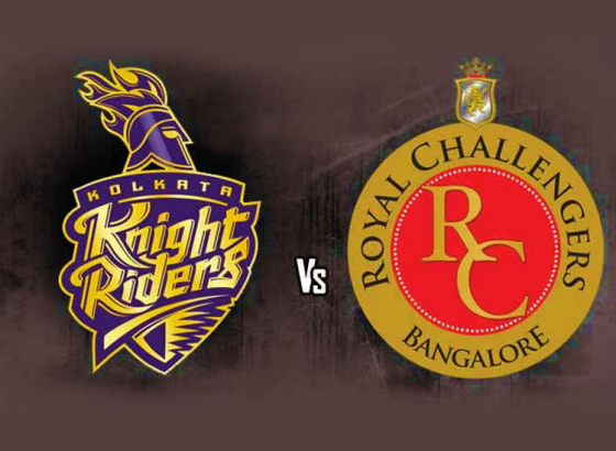 KKR vs RCB will kick off on 8TH April 2018