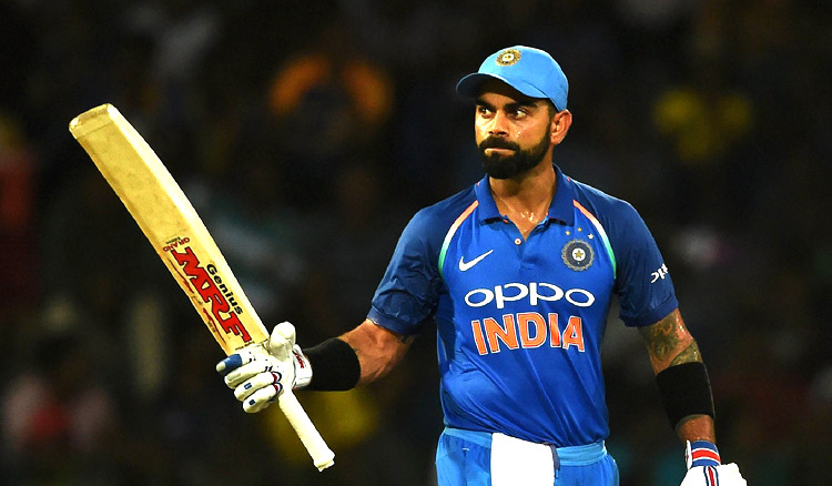 Virat Kohli was crowned the Wisden leading male cricketer AGAIN!