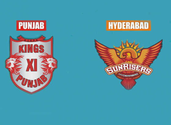 KXIP hopes to continue their form against SRH today