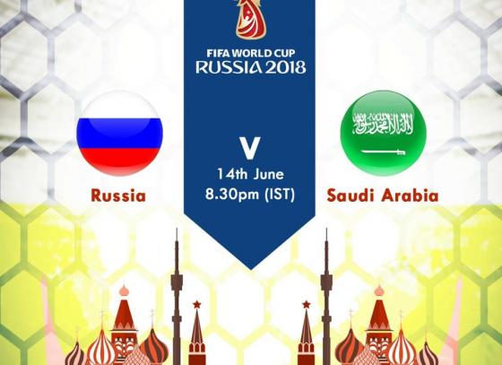 Googly Goals 2018 Live | Russia | Saudi Arabia